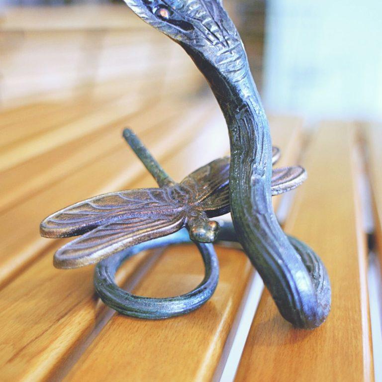 Кованая змея
